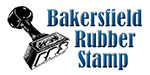 Bakersfield Rubber Stamp Logo