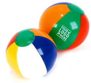 Personalized Beach Balls